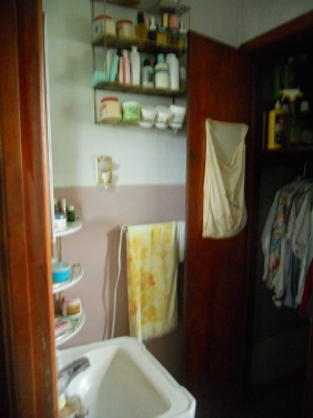 Glimpse of the Bathroom